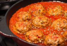 Boulettes de viande à la sauce tomate WW