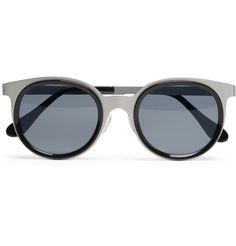 Maison Martin MargielaRound-Framed Metal Sunglasses MR PORTER