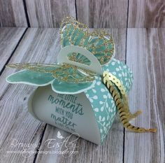 A Stampin' Up! 3d Paper Crafts, Diy And Crafts, Scrapbook Cards, Scrapbooking, Creative Box, Stampin Up Catalog, Butterfly Cards, Deco Table, Stamping Up