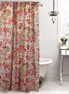 flower shower shower curtains and boho on pinterest