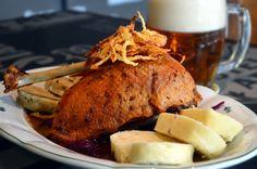 Pečená husa Nachos, Pork, Turkey, Meat, Kale Stir Fry, Turkey Country, Tortilla Chips, Pork Chops