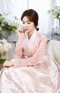 Look at this Trendy korean fashion trends Korean Traditional Dress, Traditional Fashion, Traditional Dresses, Korean Dress, Korean Outfits, Korean Clothes, Korean Fashion Trends, Asian Fashion, Korea Fashion