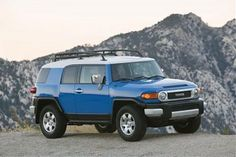 Toyota FJ Cruiser Touchup Paint Codes, Image Galleries, Brochure and TV Commercial Archives