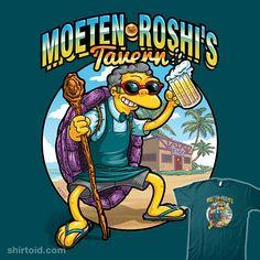 Moeten Roshi's Tavern #castello #danielcastellomuniz #dragonball #dragonballz #masterroshi #moeszyslak #thesimpsons #tvshow