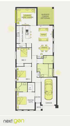McDonald Jones Homes - Houston Collection - Floorplan #Floorplans #luxuryhome
