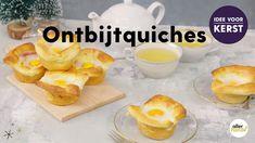 Dit is het ontbijtrecept waar je deze kerst voor moet quichen! Makkelijk om te maken, maar o zo feestelijk. Vrolijk kerstfeest! - Mini-kerstontbijtquiches - Recept - Allerhande