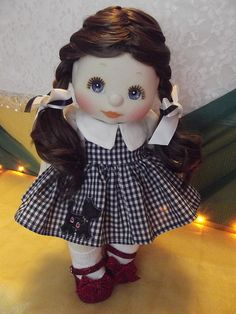 "OOAK Mattel My Child Doll ~  Dorothy from ""The Wizard of Oz"", via Flickr."