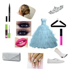 """""""Prom"""" by katelyn-long-1 on Polyvore featuring beauty, Vans, Kate Marie, Boohoo, NARS Cosmetics, Stila, Maybelline, Mascara and Durango"""