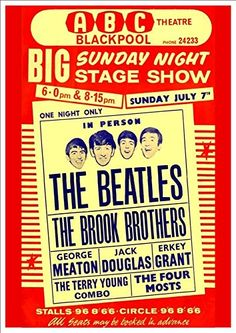 """The Beatles - ABC Theatre, Blackpool."" Fantastic A4 Glos... https://www.amazon.co.uk/dp/B0155Z50XG/ref=cm_sw_r_pi_dp_x_ngNpybCYWFR94"