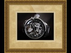 Invicta Russian Diver Mechanical Watch Framed Print and Photo in Canvas, Beautiful and Unique