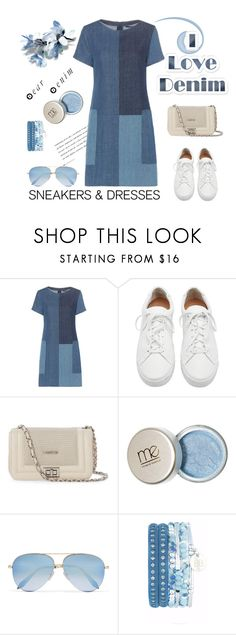 """""""Untitled #727"""" by m-jelic ❤ liked on Polyvore featuring J Brand, Loeffler Randall, Mario Valentino and Victoria Beckham"""
