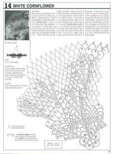 Схема к фото 15)   Decorative Crochet Magazines 44 - Gitte Andersen - Picasa Web Albums