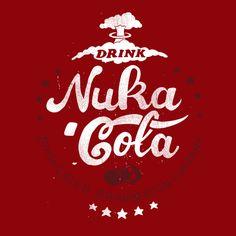 #fallout #nukacola #tshirt