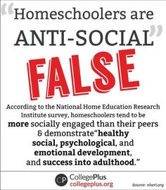 Homeschoolers are just as smart and often smarter than public schoolers. And before I get flooded with public schoolers countering me, 1. check your facts and 2. it goes both ways.