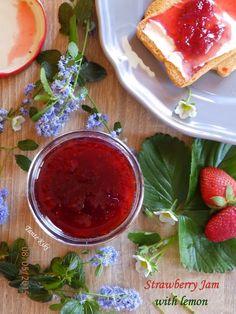 Tante Kiki: Μαρμελάδα φράουλα με... λεμόνι, η απόλυτη γευστική...