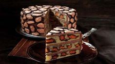 Вот это красота! Торт на удивление красив и легок в приготовлении! И действительно похож на …