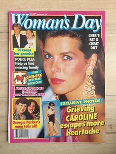 Woman's Day Magazine January 29, 1991 ~ Princess Caroline, Princess Diana++