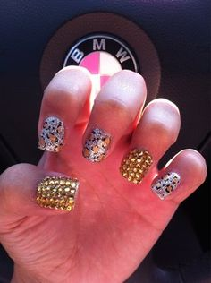 diamond nail designs | Diamond Nails | Nail Designs - Pictures, Tutorials, Videos, and more!