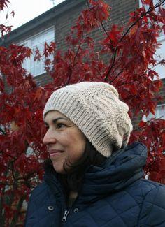 CROCHET PATTERN Crochet slouchy hat pattern by LuzPatterns on Etsy