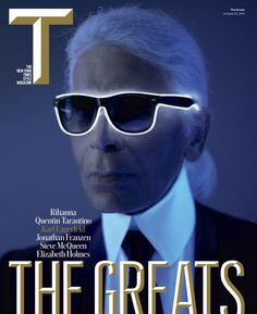Karl Lagerfeld Covers The New York Times Style Magazine, Talks Life