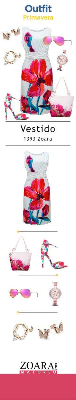 Ármate un look primaveral y luce el estilo que te caracteriza. La clave está en usar nuestro vestido #Zoara. #floraldress #spring #outfit