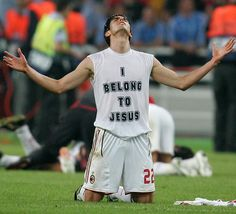 Kaka. dont worry. hes only one of the worlds best soccer players AND he loves Jesus. Winning!
