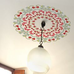 Ceiling Rose Sticker Garden, 18€, now featured on Fab.