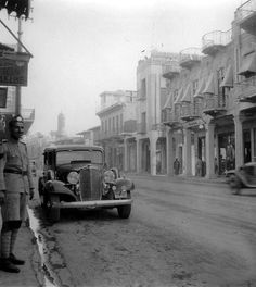 Baghdad,Rashid Street in 1935