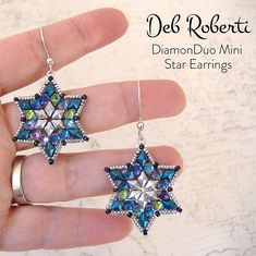 Deb has a new free beading pattern. Aren't they cute?