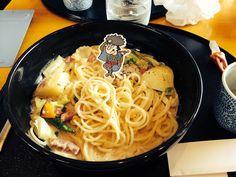 五右衛門の北海道バタークリームなんちゃらスパゲティ