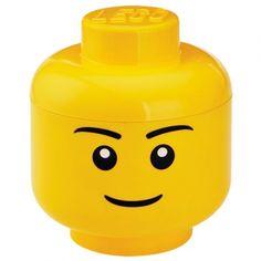boite rangement lego tete s garcon