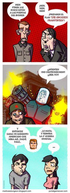 La verdad sobre la Segunda Guerra Mundial, según Wolfenstein 3D