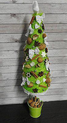 Dekorácie - Vianočný stromček - 7312929_