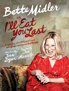 Giving away a pair of tickets to see Bette Midler on Broadway! http://northwest-jersey.macaronikid.com/article/466688/ill-eat-you-last