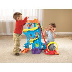 Fisher-Price Little People Wheelies Loops 'n Swoops Amusement Park Play Set $44.97
