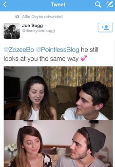 """otp-zalfie: """"it must be their anniversary or something because they're zalfie af """" <<< goals af Cute Relationships, Relationship Goals, Buttercream Squad, Sugg Life, Zoe Sugg, British Youtubers, Tyler Oakley, Zoella, Dan And Phil"""