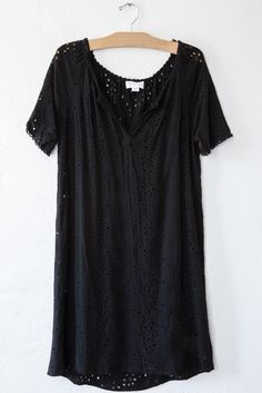 velvet black jefferson dress