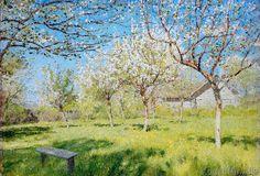 Isaak Iljitsch Lewitan - Blühende Apfelbäume