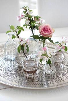 Die majestätische Rose wird einem auf dem silber Tablett serviert! #tollwasblumenmachen #flower #deco