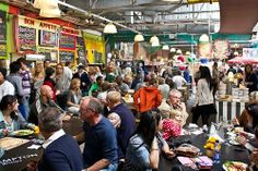 Bay Harbour Market, Hout Bay, once an abandoned space of a derelict fish factor, is now a vibrant weekend market.