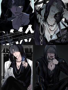 Yandere Anime, Anime Manga, Anime Art, Handsome Anime Guys, Hot Anime Guys, Aesthetic Boy, Aesthetic Anime, Digital Art Anime, Best Anime Shows