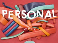 Poster: personal work vs. commissioned work by Olga Protasova
