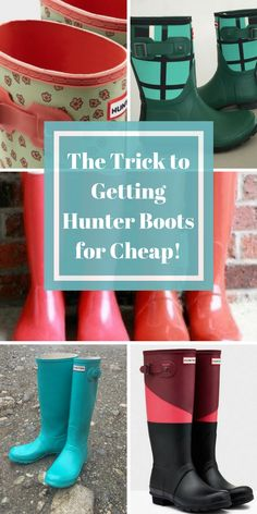 On a budget, but want to look on point this fall? Shop Poshmark to find the best deals on Hunter Boots. Find brand new items up to 70% off. Tap to download the free app now!
