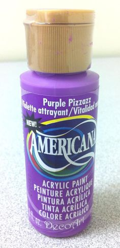 New DecoArt Americana Color- Purple Pizazz!