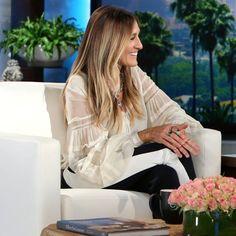 Sarah Jessica Parker on The Ellen DeGeneres Show Sept. 2016