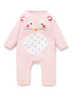 Pure Cotton Novelty Bunny All-in-One