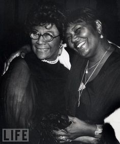 Ella Fitzgerald and Pearl Bailey in 1976 I actually met Pearl Bailey one time when I was a kid. Very sweet lady!