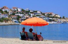 """Greece has the most wonderful waters and serene sunsets. Tour specialis, Archaeologous.com says, """"Put the two together with a day at the beach after some history lessons at the Acropolis. #GreeceBeaches #GreeceTours #BucketlistVacations.#Travel #MediterraneanCruises Greece Tours, Acropolis, Day Tours, Dream Vacations, Sunsets, Serenity, Two By Two, Cruise, Turkey"""