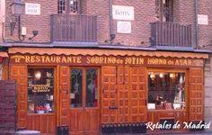 Retales de Madrid: Restaurante Sobrino de Botín.