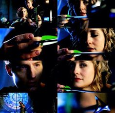 Oliver and Chloe from Smallville Chlollie